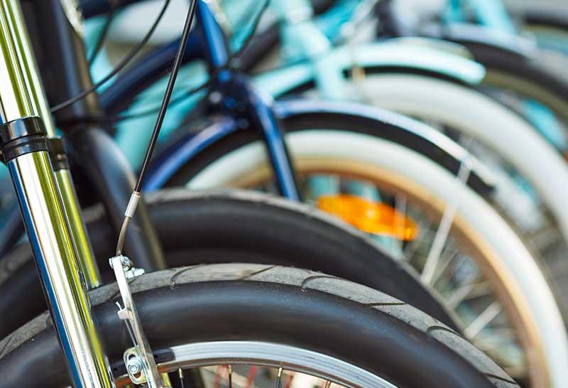 Masse Corner Bike Storage