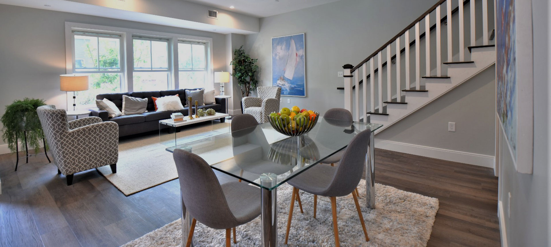 The Apartments at Masse Corner Open Living Space